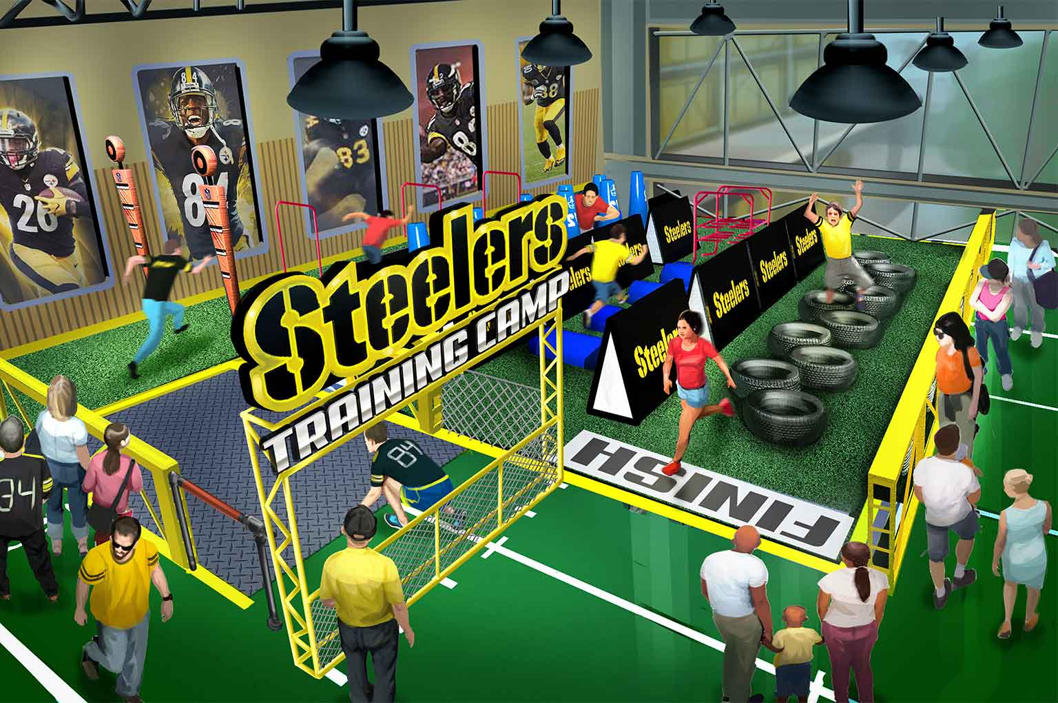 Steelers Country theme park design