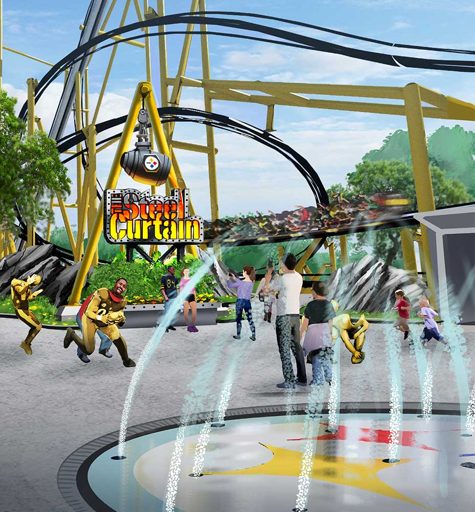 Kennywood theme park design