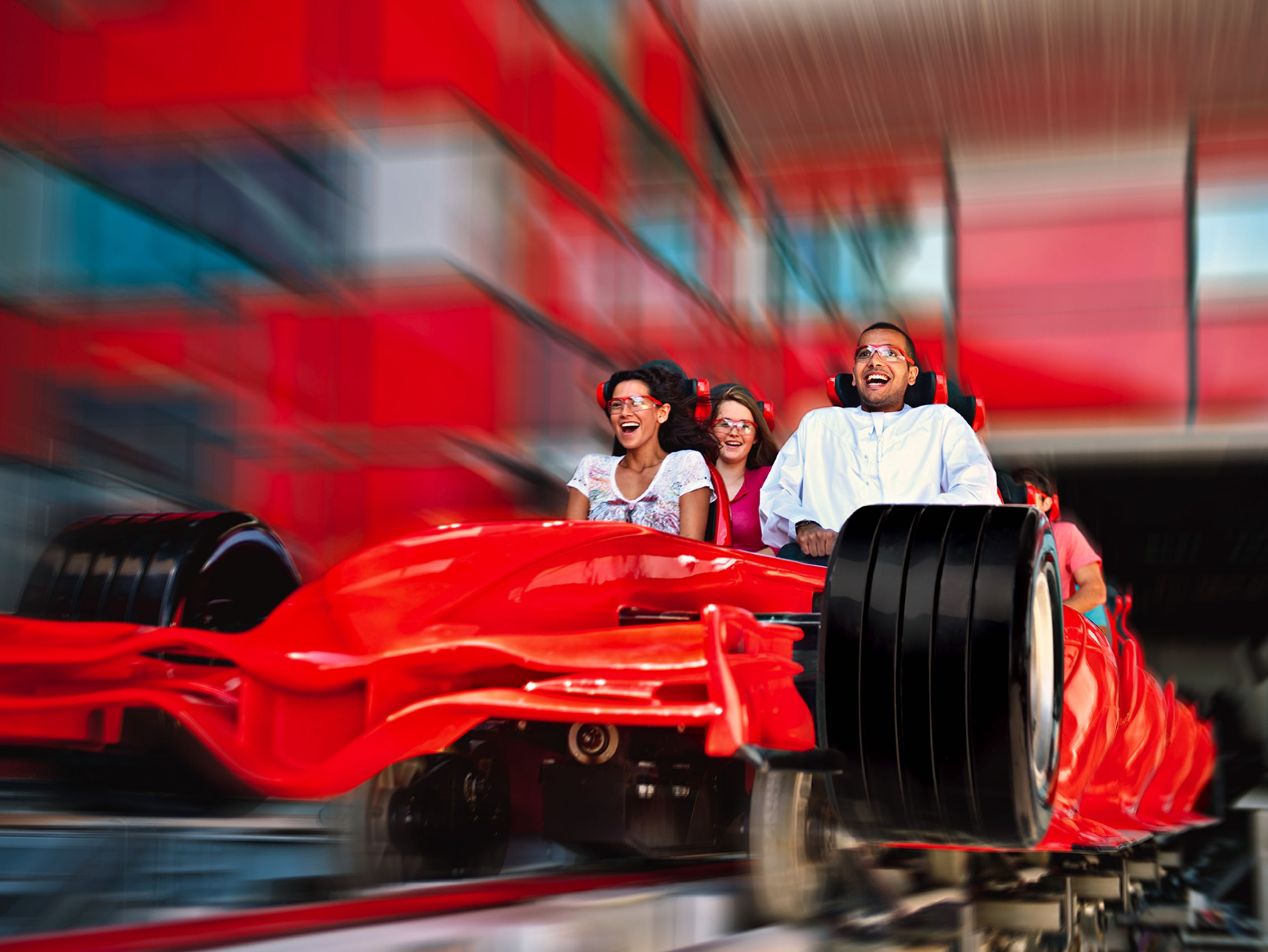 Ferrari World theme park design